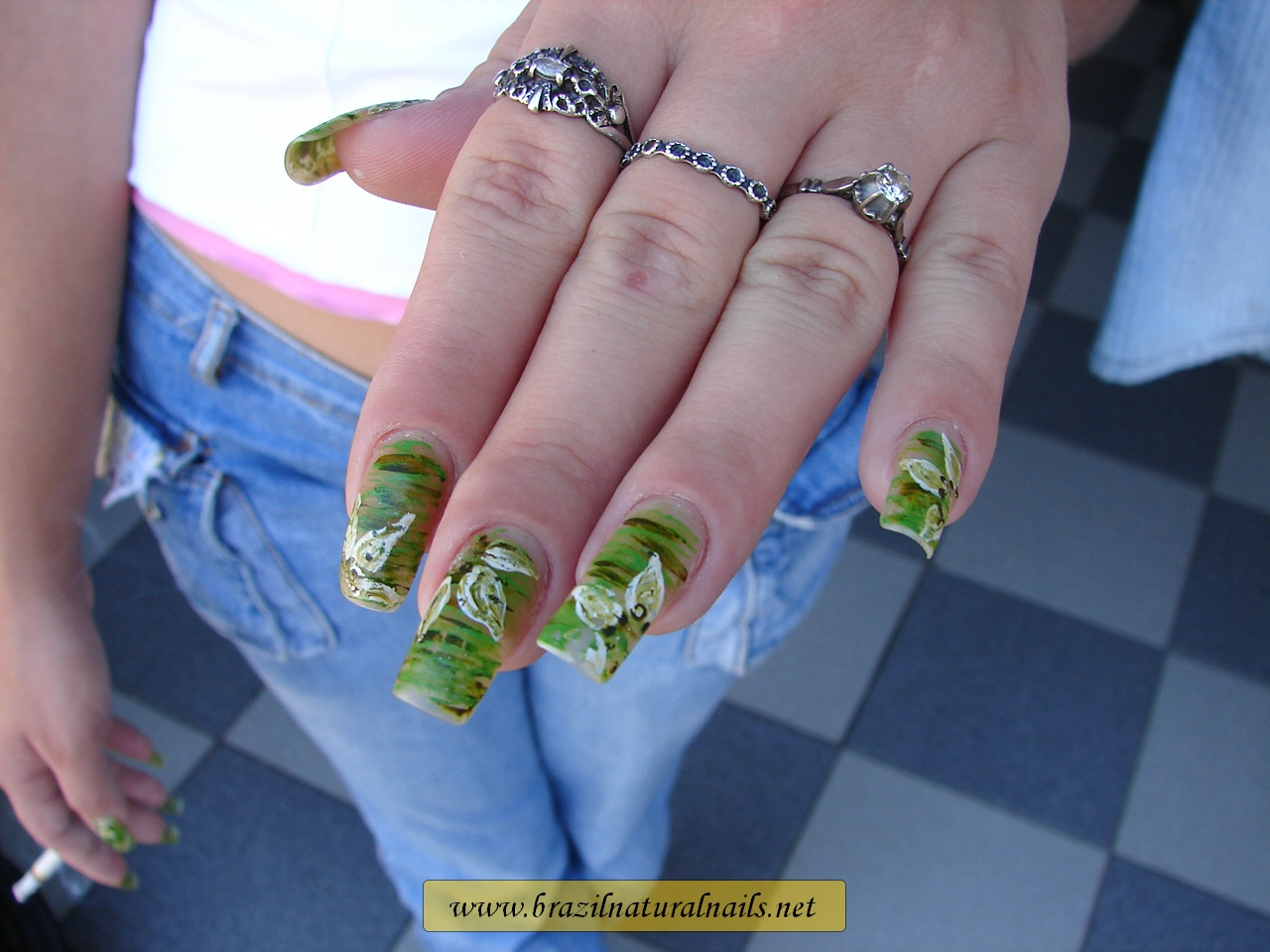 BrazilNaturalNails.net - Natural girls, beautiful exotic nails.